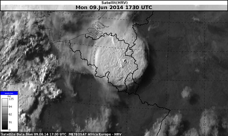 HRV-Satellitenbild, 17:30 UTC, Quelle: NinJo, DWD